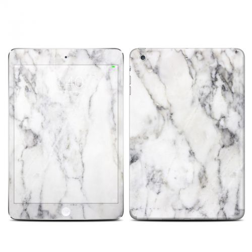 White Marble iPad mini 3 Skin