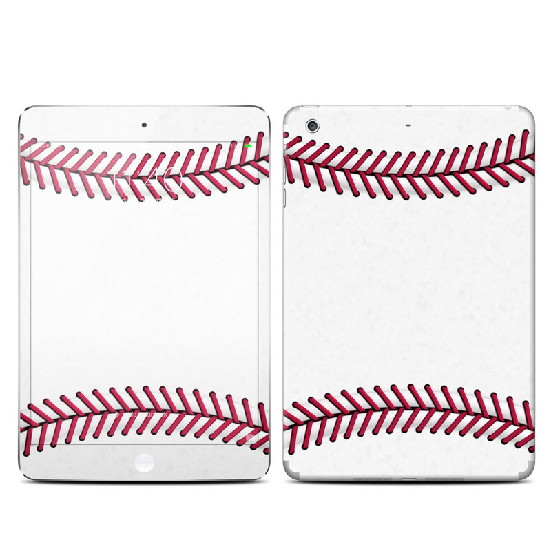 iPad mini 3 Skin design of Red, Line, Pink, Parallel, Paper with white, red colors
