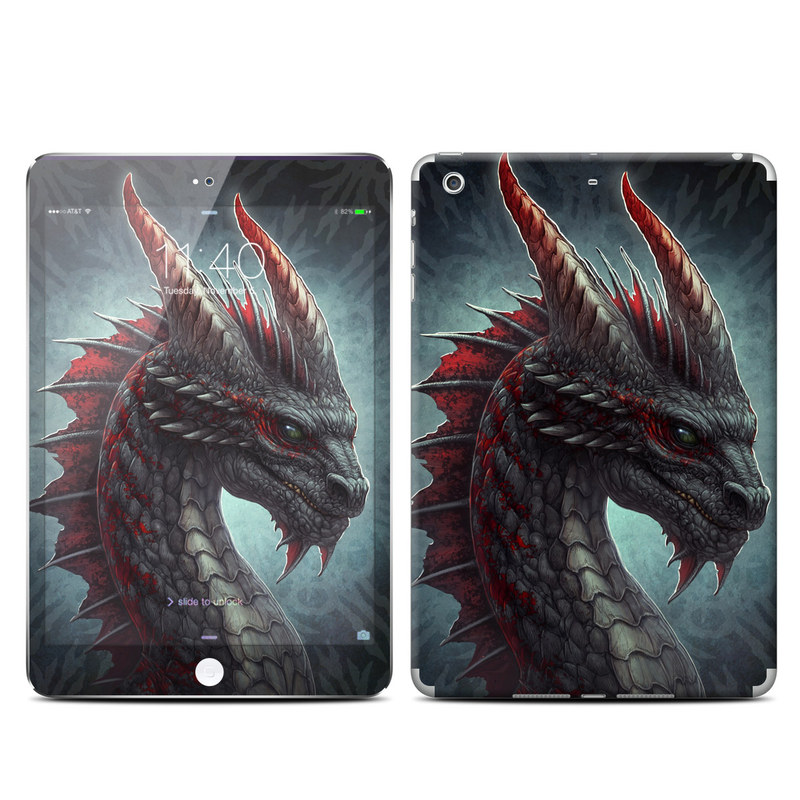 Black Dragon iPad mini 3 Skin