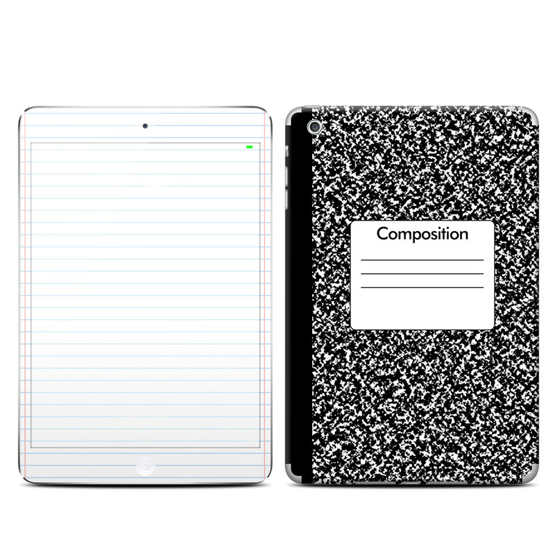 iPad mini 3 Skin design of Text, Font, Line, Pattern, Black-and-white, Illustration with black, gray, white colors