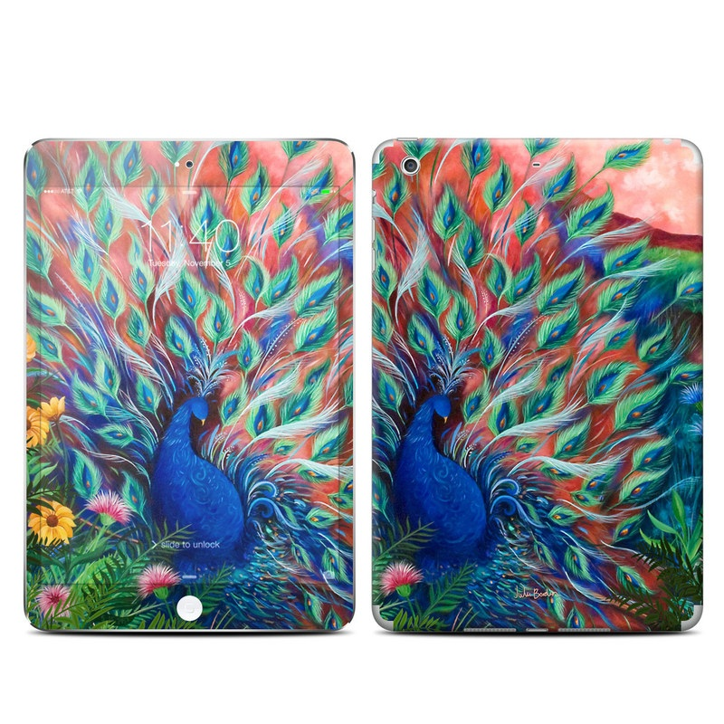 Coral Peacock iPad mini 3 Skin