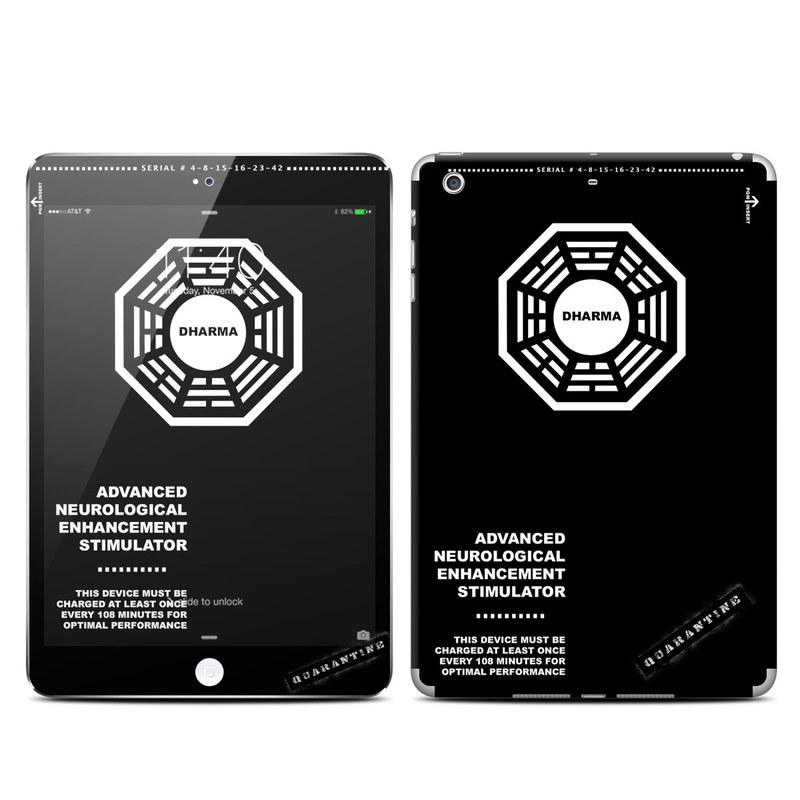 Dharma Black iPad mini 3 Skin