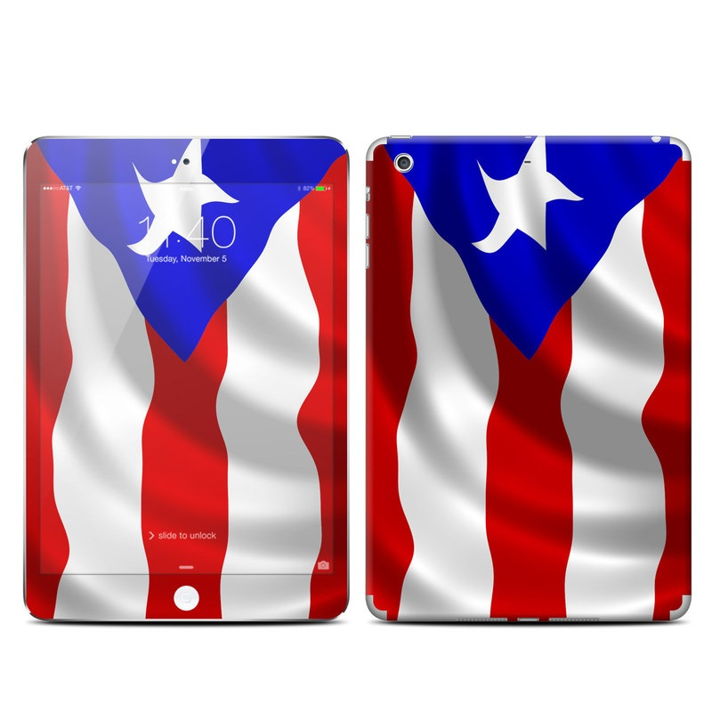 Puerto Rican Flag iPad mini 3 Skin