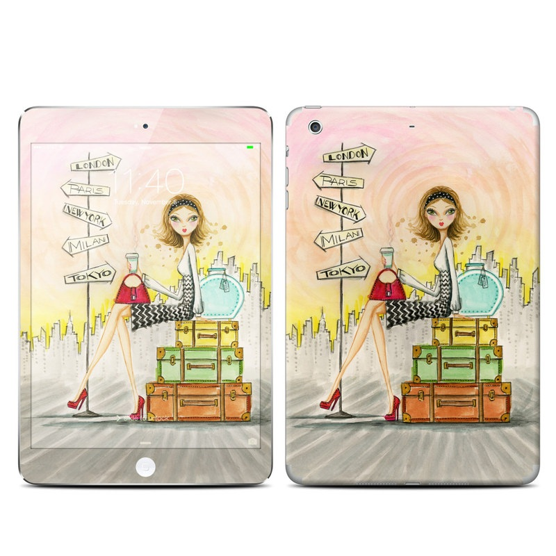 The Jet Setter iPad mini 3 Skin