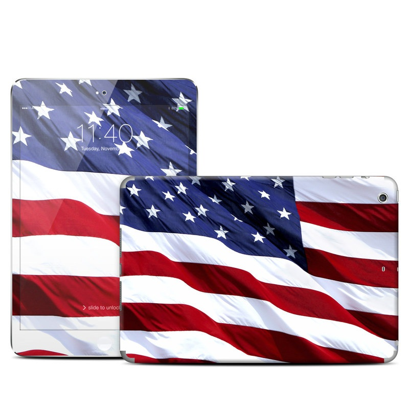 Patriotic iPad mini 3 Skin