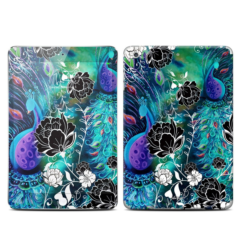 Peacock Garden iPad mini 3 Skin