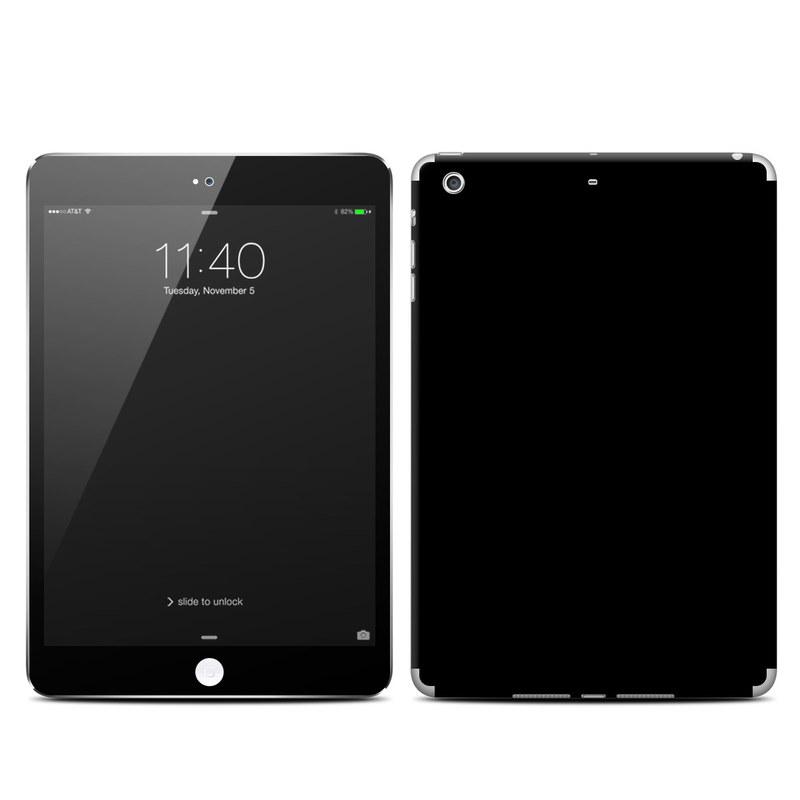 Solid State Black iPad mini 3 Skin