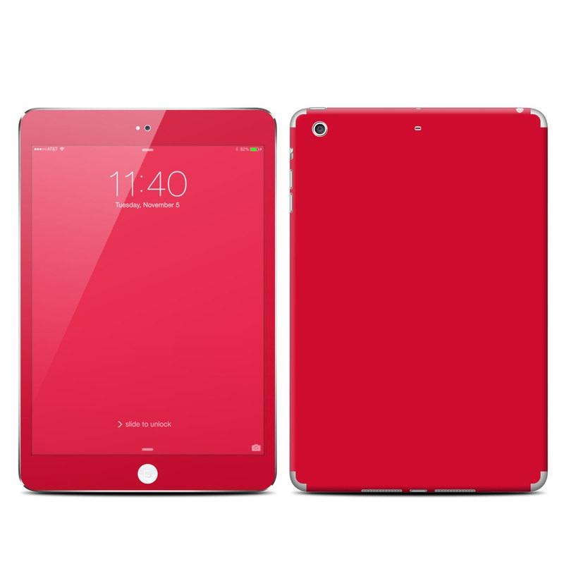 Solid State Red iPad mini 3 Skin