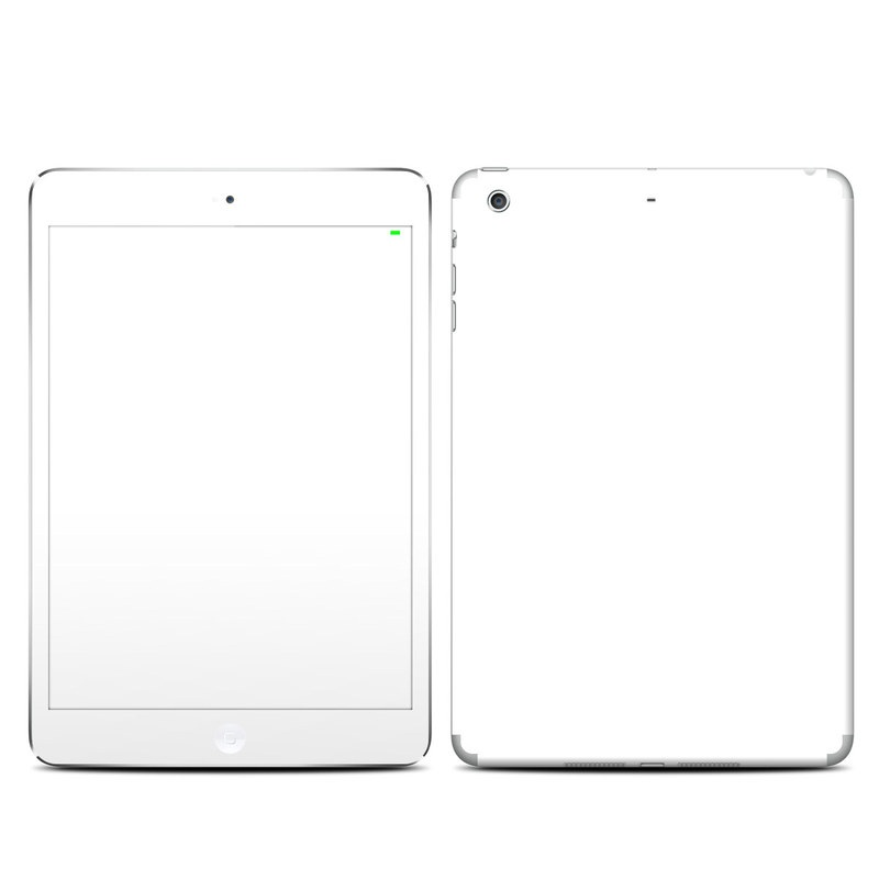 Solid State White iPad mini 3 Skin