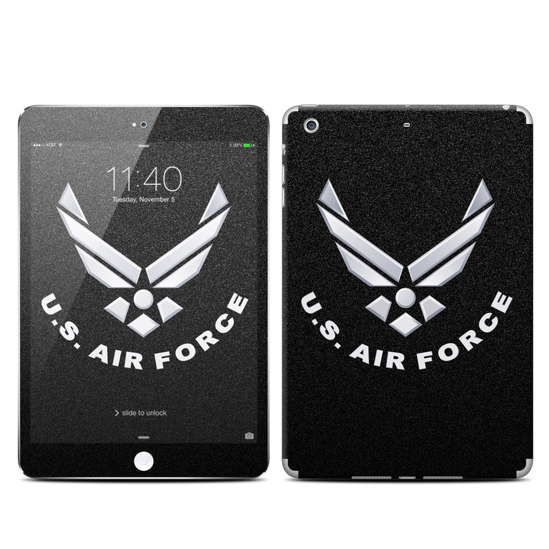 USAF Black iPad mini 3 Skin