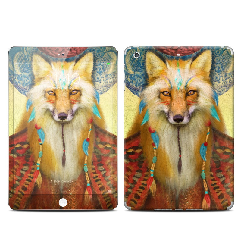 Wise Fox iPad mini 3 Skin