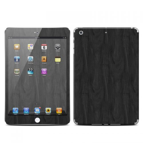 Black Woodgrain iPad mini 2 Retina Skin