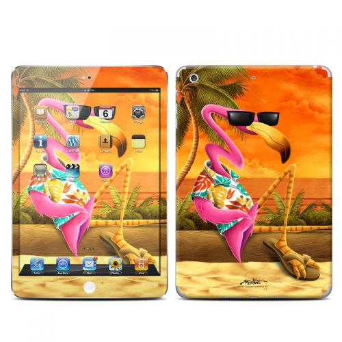 Sunset Flamingo iPad mini Retina Skin