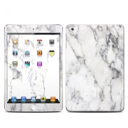 White Marble iPad mini 2 Retina Skin