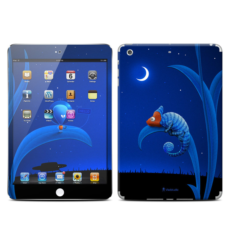 Alien and Chameleon iPad mini Retina Skin