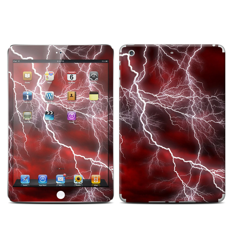 Apocalypse Red iPad mini 2 Retina Skin
