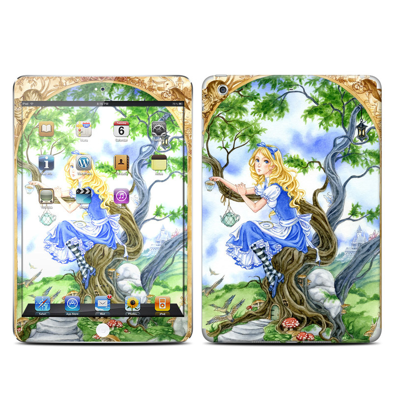 Alice's Tea Time iPad mini Retina Skin