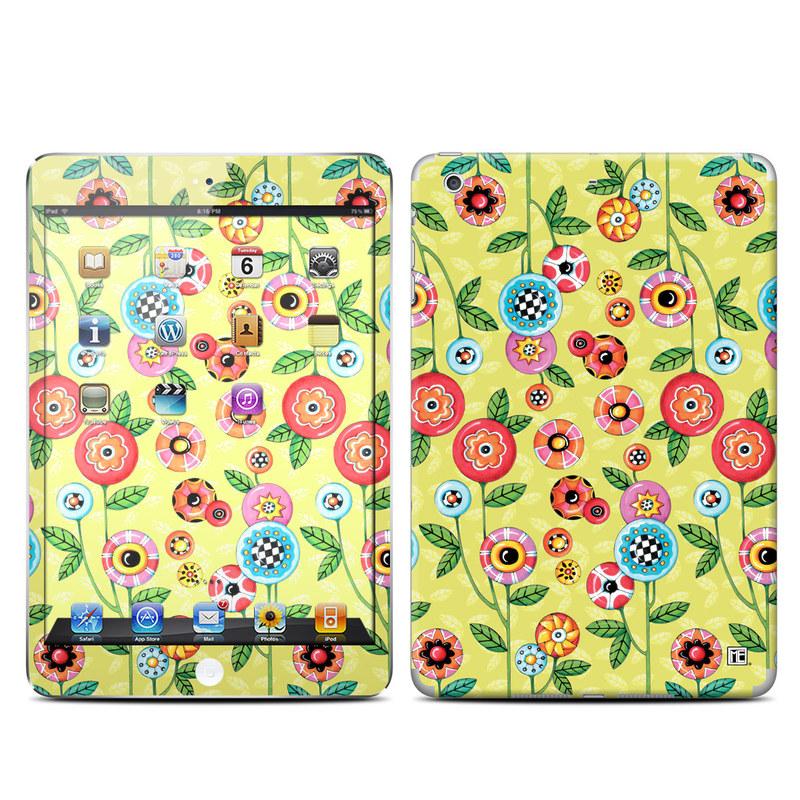 Button Flowers iPad mini Retina Skin
