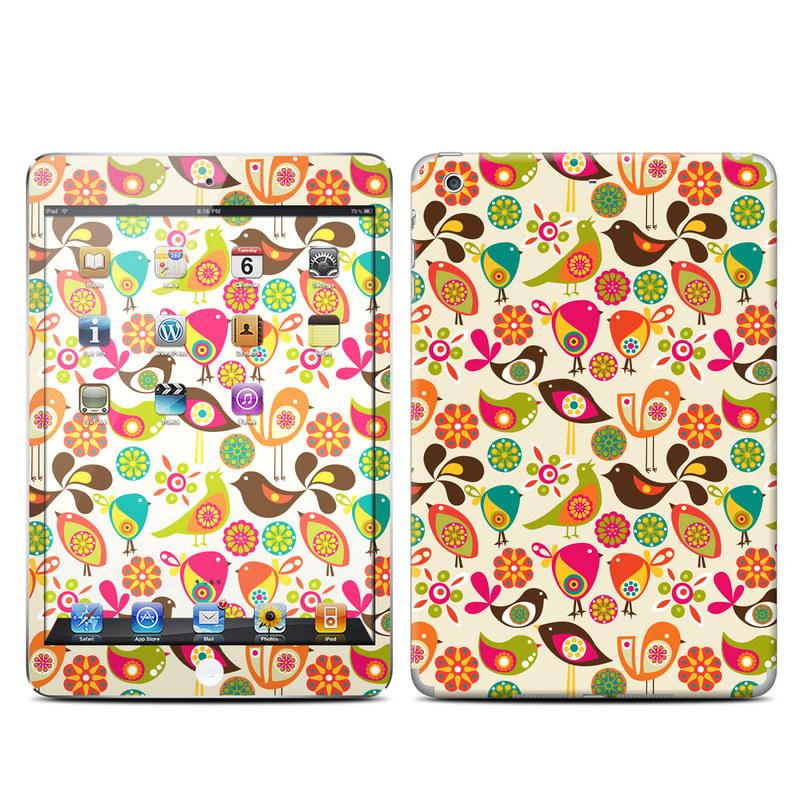 Bird Flowers iPad mini 2 Retina Skin