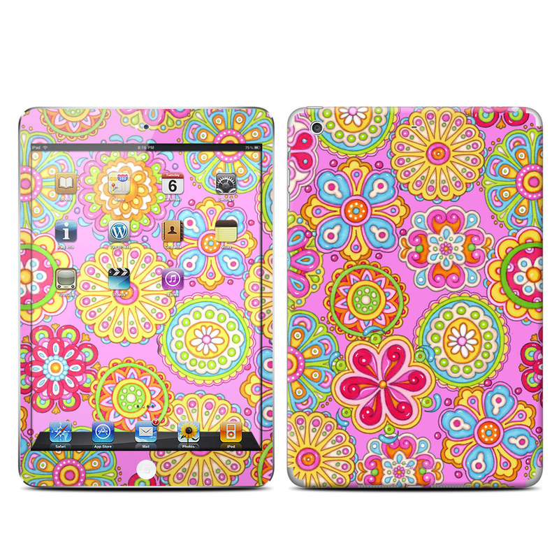 Bright Flowers iPad mini Retina Skin