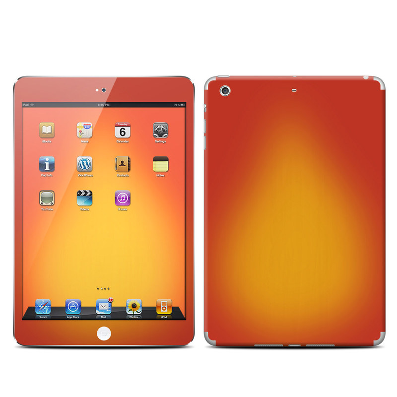 Cherry Sunburst iPad mini Retina Skin