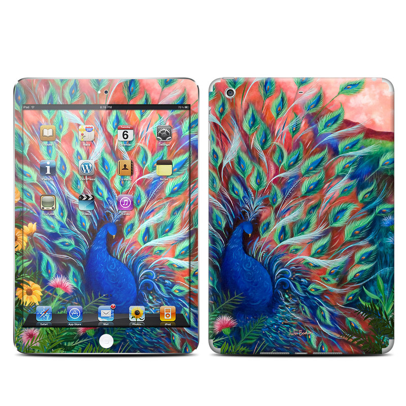 Coral Peacock iPad mini Retina Skin