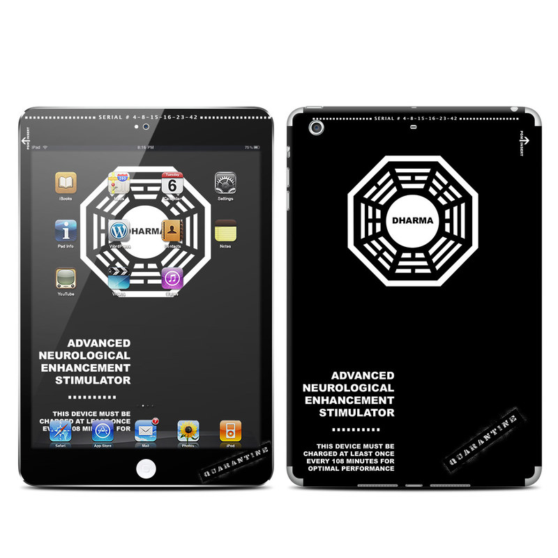 iPad mini 2 Skin design of White, Black, Logo, Symmetry, Emblem, Font, Pattern, Graphic design, Design, Symbol with black, white, gray colors