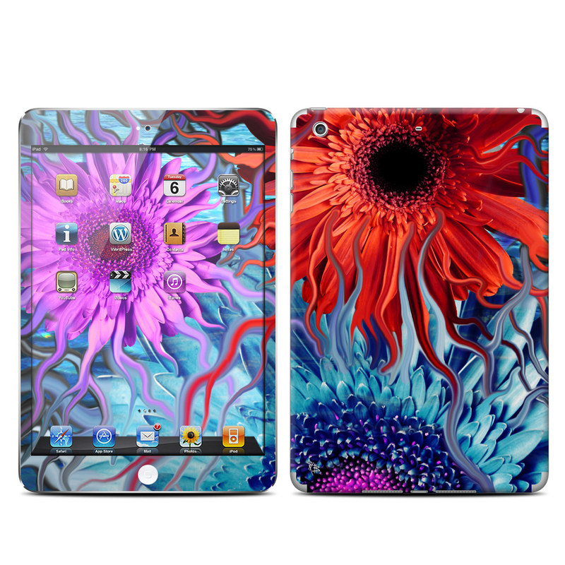 Deep Water Daisy Dance iPad mini Retina Skin