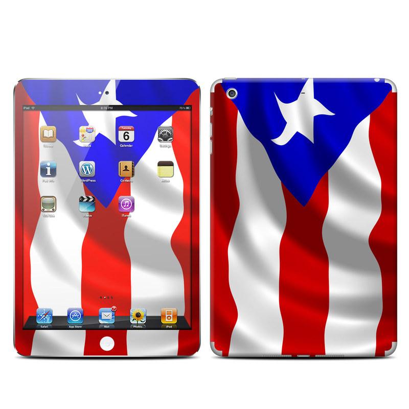 Puerto Rican Flag iPad mini 2 Retina Skin