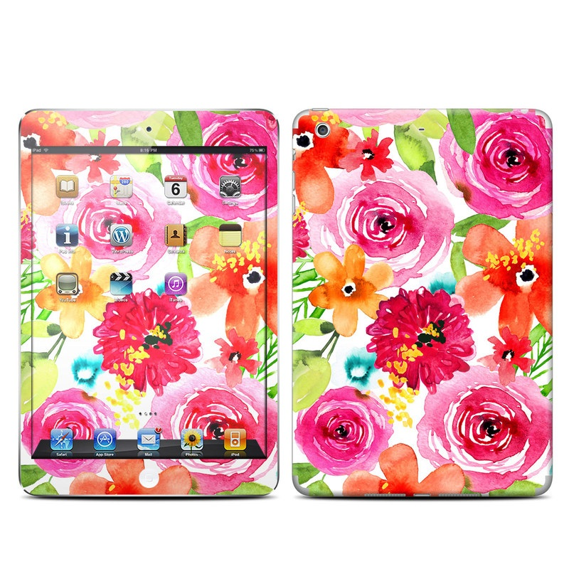 Floral Pop iPad mini Retina Skin