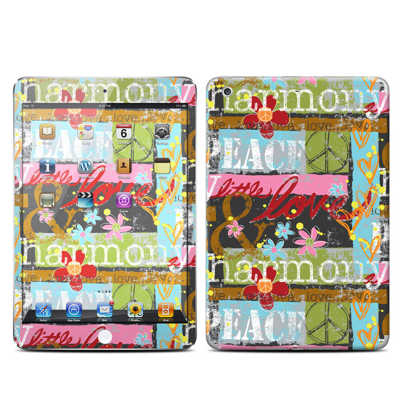 Harmony and Love iPad mini 2 Retina Skin