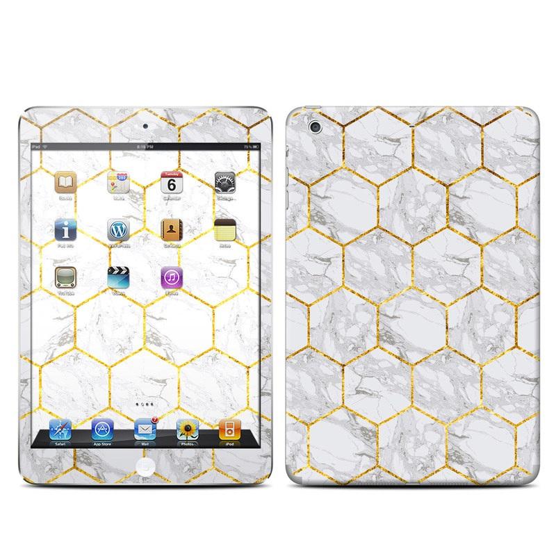 iPad mini 2 Skin design of Pattern, Tile flooring, Line, Tile, Design, Flooring, Floor with white, black, brown colors