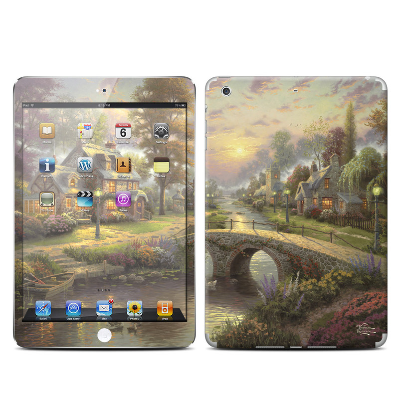 Sunset On Lamplight Lane iPad mini Retina Skin