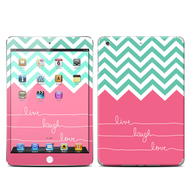 Live Laugh Love iPad mini Retina Skin