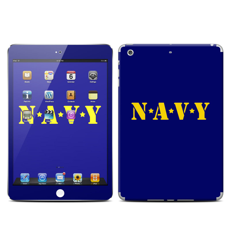 Navy iPad mini Retina Skin