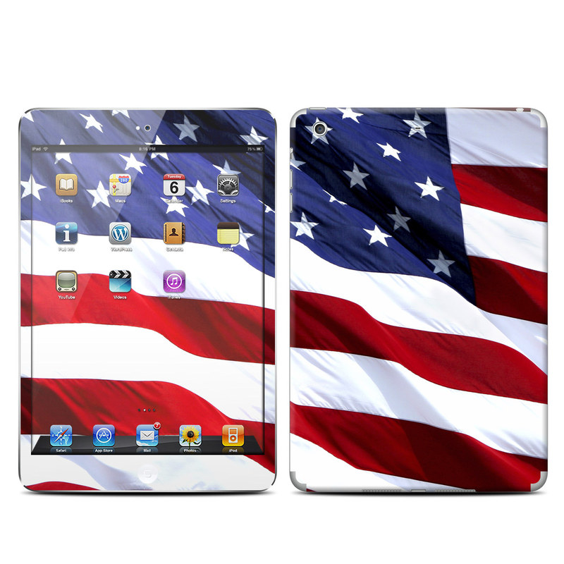 Patriotic iPad mini Retina Skin