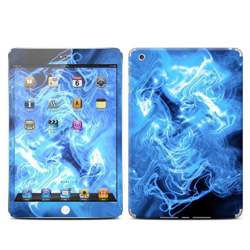 Blue Quantum Waves iPad mini Retina Skin