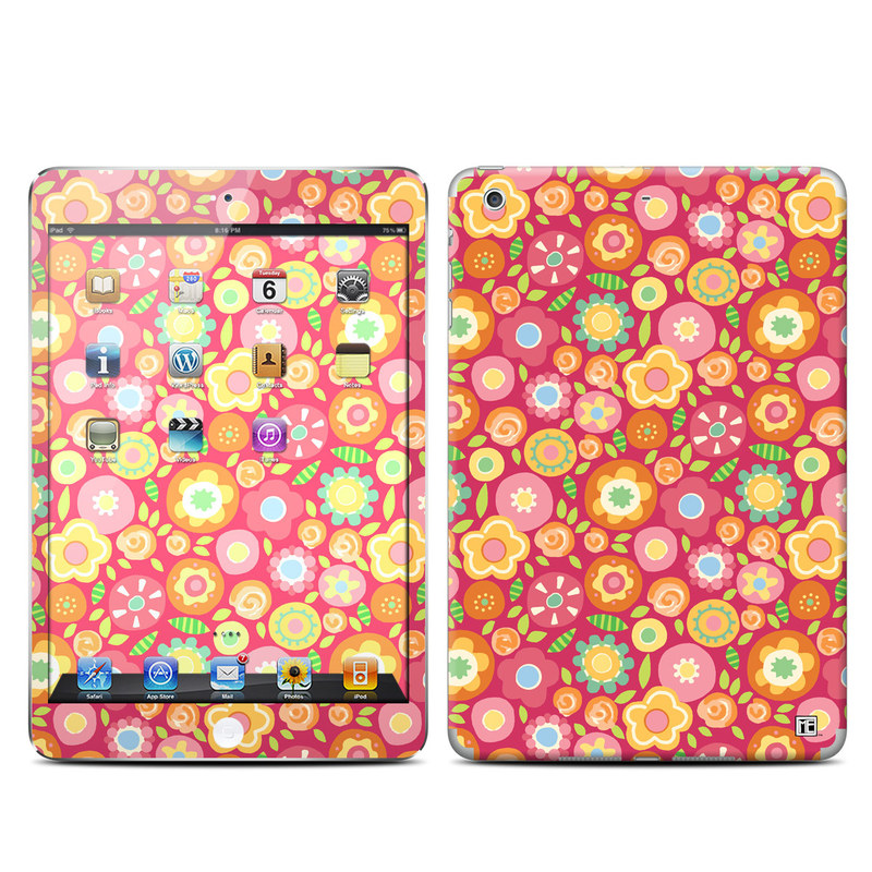 Flowers Squished iPad mini Retina Skin