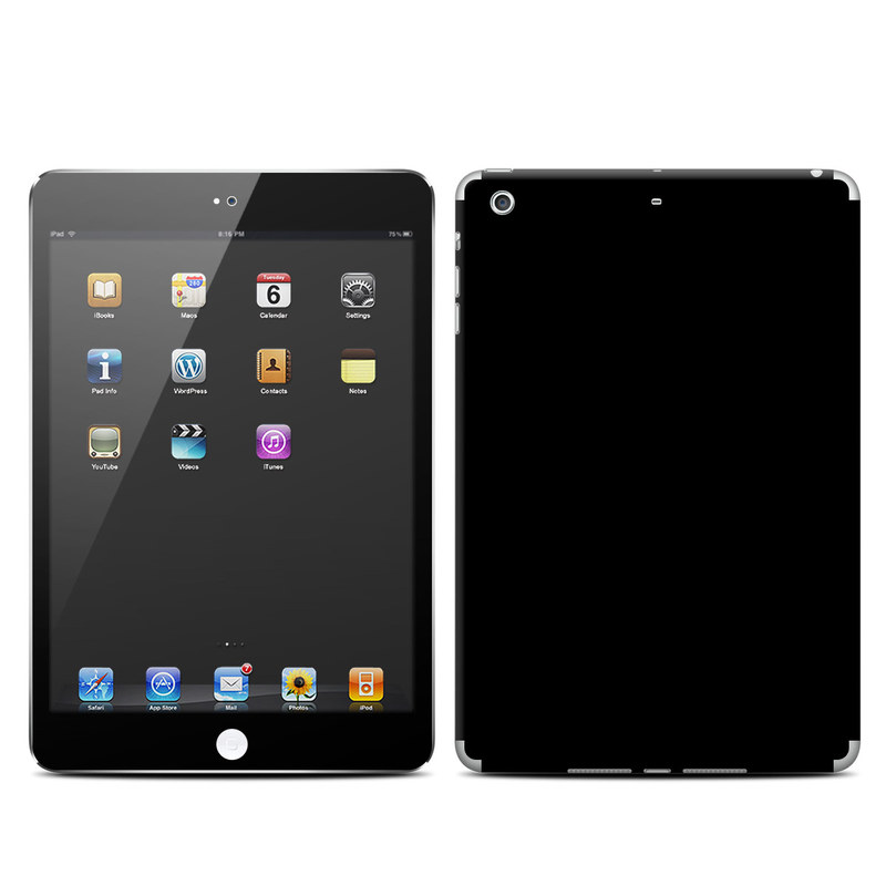 Solid State Black iPad mini Retina Skin