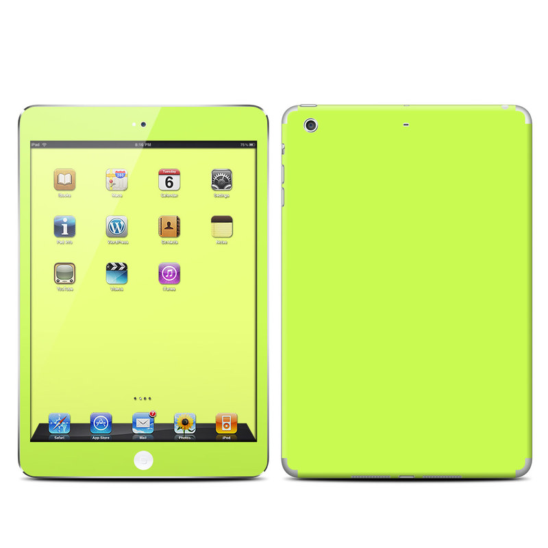 Solid State Lime iPad mini 2 Retina Skin