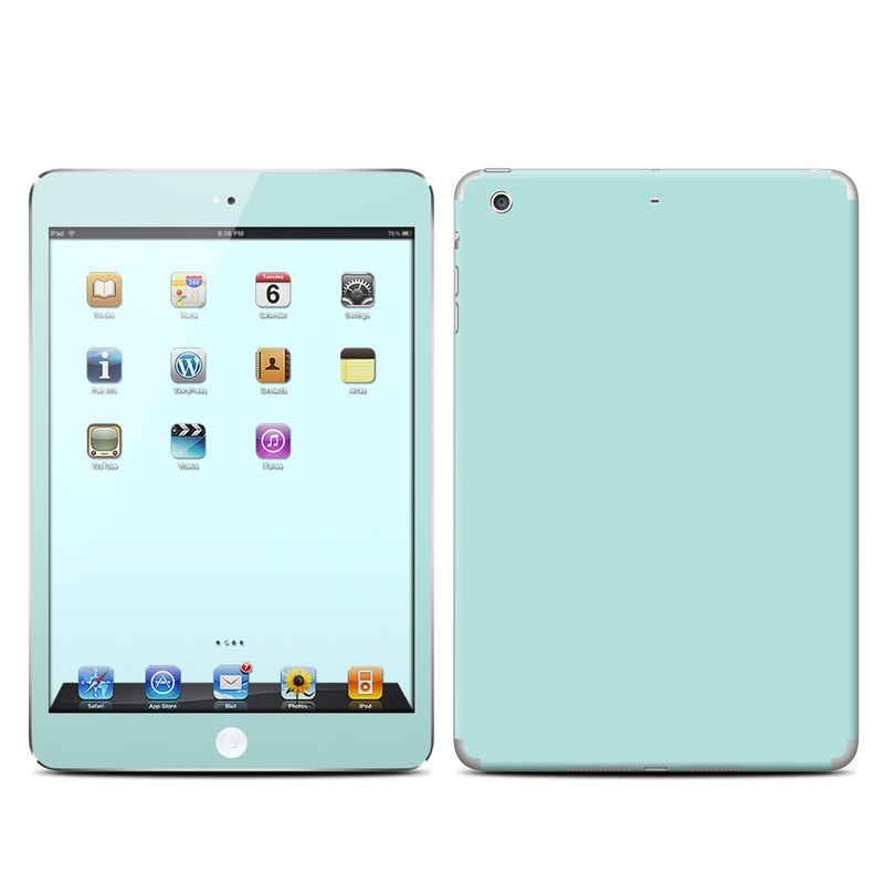 Solid State Mint iPad mini Retina Skin