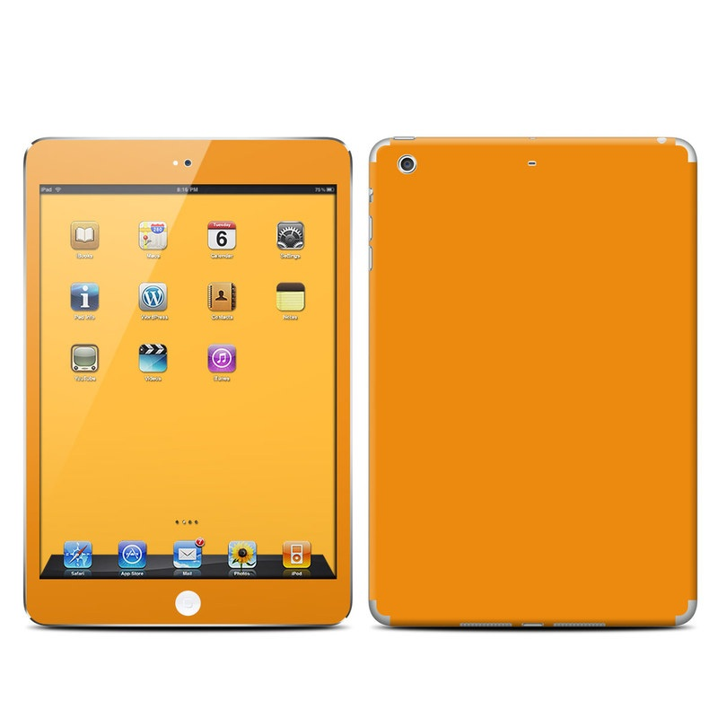 Solid State Orange iPad mini Retina Skin