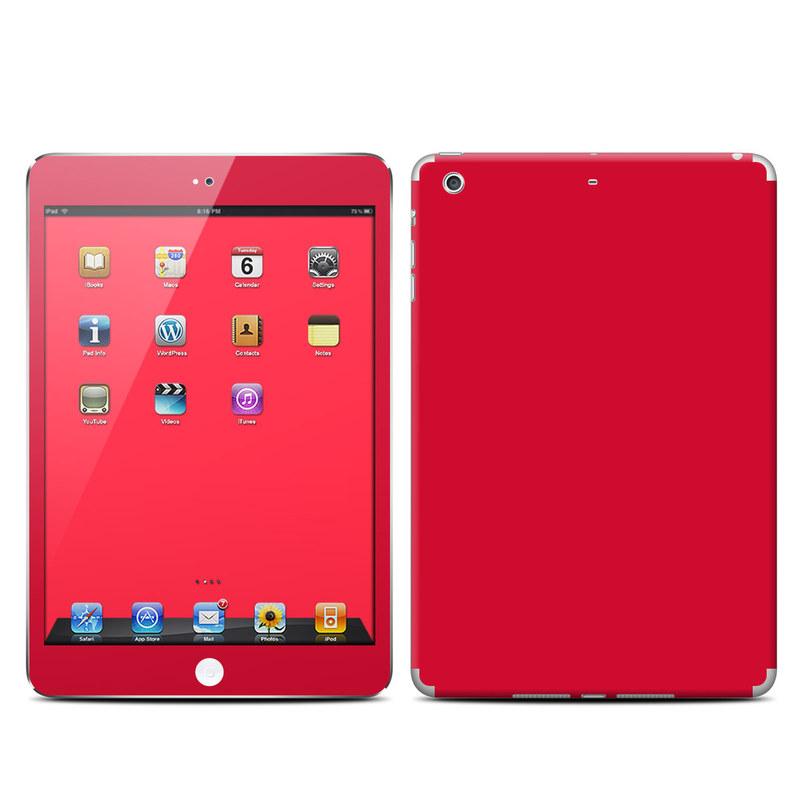 Solid State Red iPad mini 2 Retina Skin