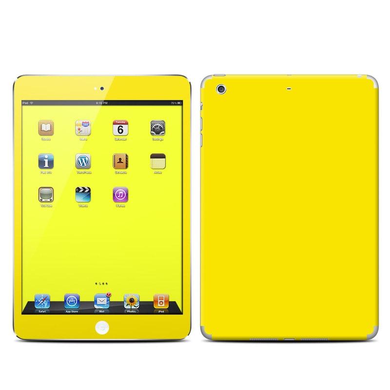 Solid State Yellow iPad mini Retina Skin