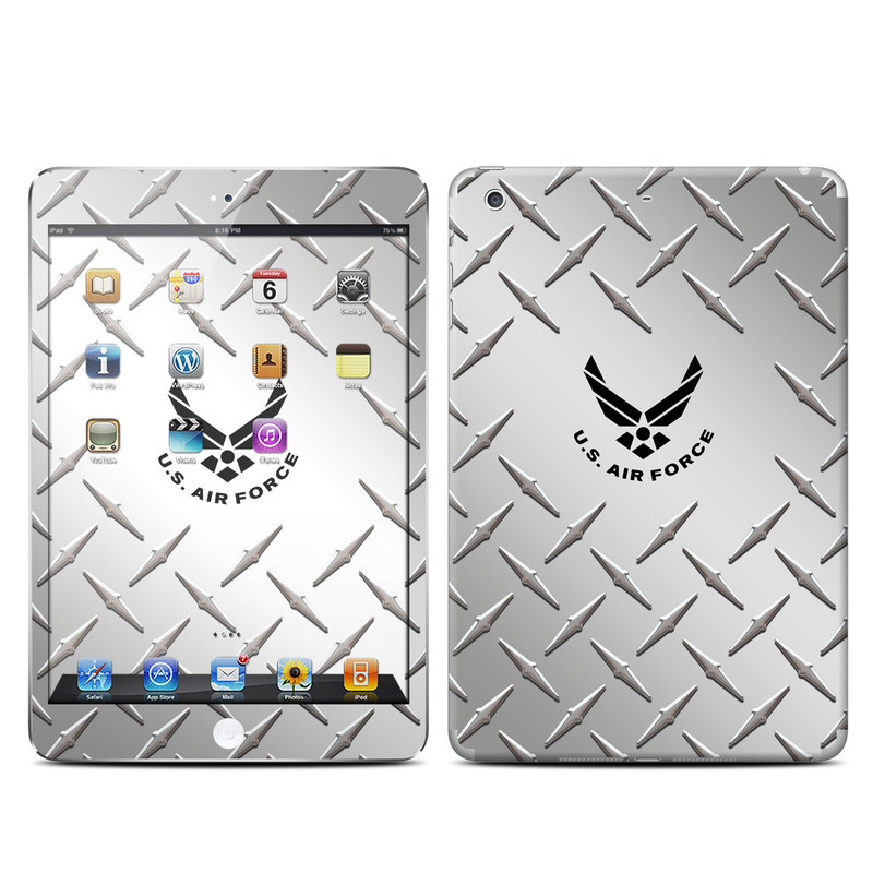 USAF Diamond Plate iPad mini Retina Skin