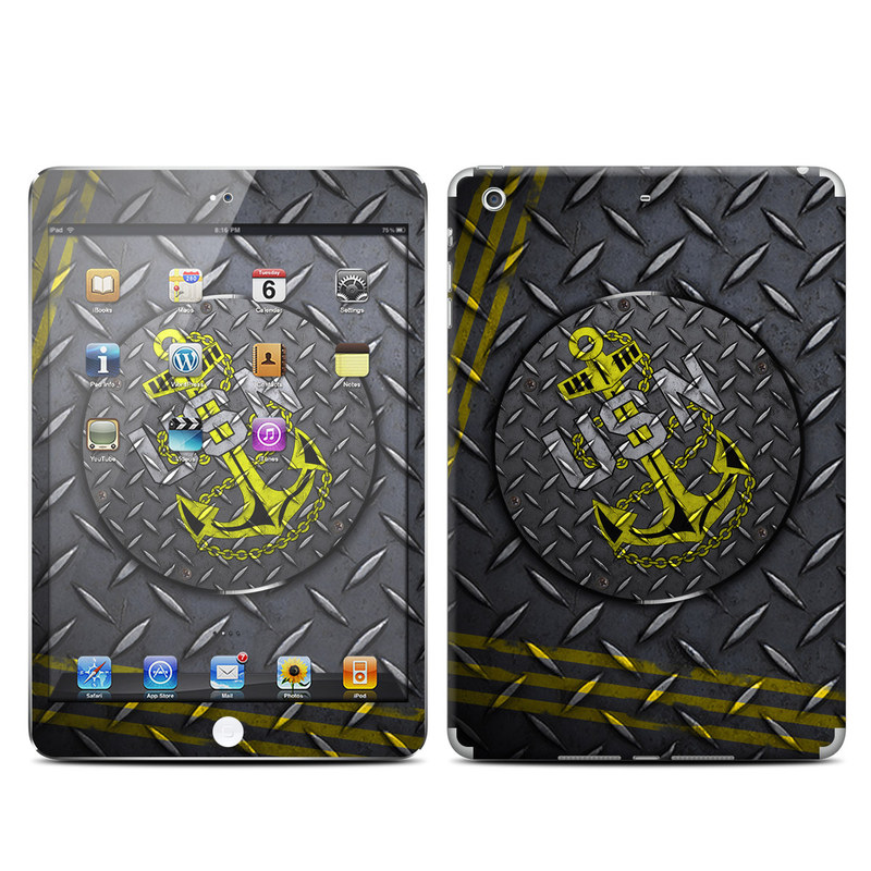USN Diamond Plate iPad mini Retina Skin
