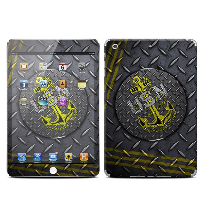 USN Diamond Plate iPad mini Retina Skin