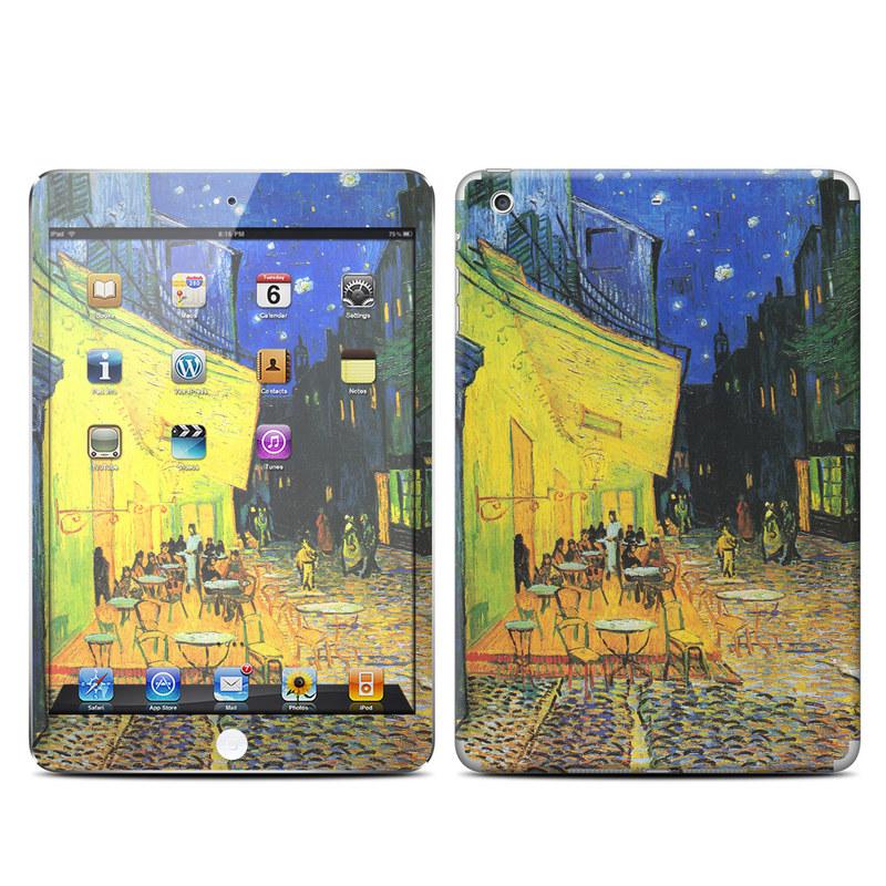 Cafe Terrace At Night iPad mini Retina Skin
