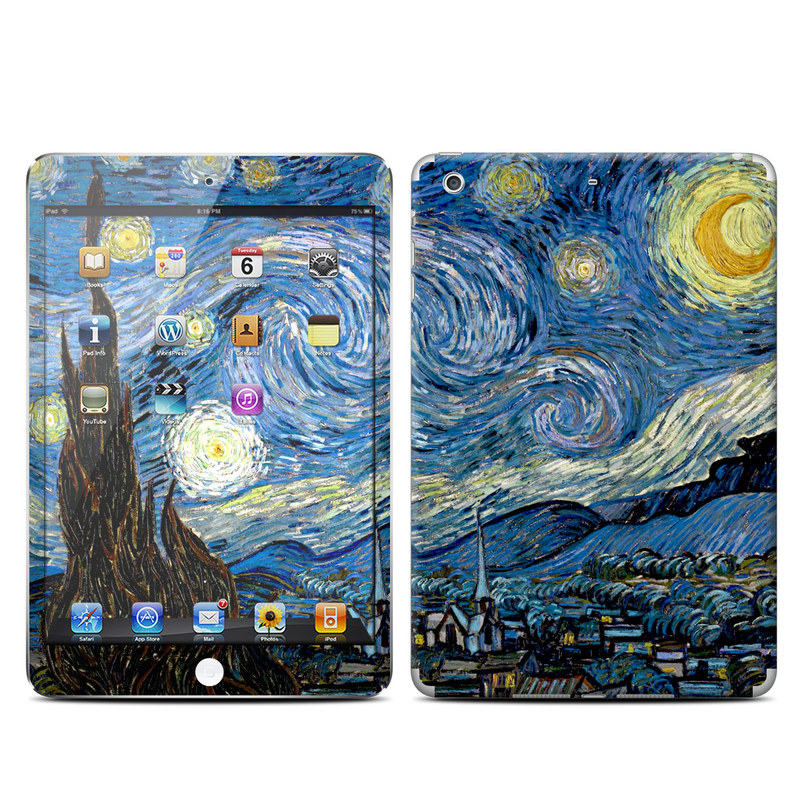 Starry Night iPad mini Retina Skin
