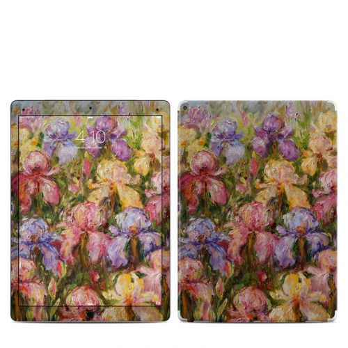Field Of Irises iPad Pro 12.9-inch Skin